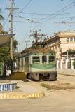 Casa Blanca Havana del treno locale Immagini Stock Libere da Diritti