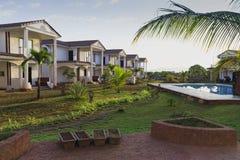 casa blanca hermosa un paraíso para el turismo Foto de archivo libre de regalías