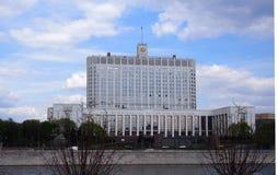 Casa blanca rusa Imágenes de archivo libres de regalías