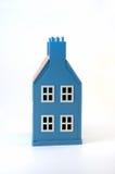 Casa blu Immagine Stock Libera da Diritti