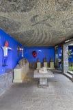 Casa blu Azul della La della Camera Fotografia Stock