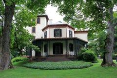 Casa bonita de Samuel F Morse, inventor do código Morse, Poughkeepsie, New York, verão, 2013 fotografia de stock royalty free