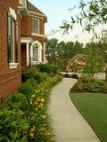 Casa bonita do tijolo Fotos de Stock