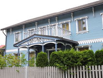 Casa bonita, Letónia Foto de Stock Royalty Free