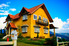 Casa bonito Imagem de Stock Royalty Free