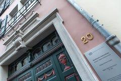 Casa Bonn Alemania del nacimiento de Beethoven Fotografía de archivo libre de regalías