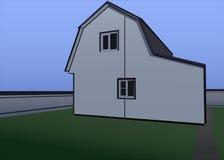 Casa branca ilustração do vetor
