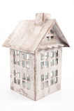Casa branca da lanterna Fotografia de Stock Royalty Free