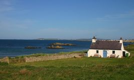 Casa branca em Gales Foto de Stock Royalty Free