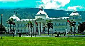 A casa branca haitiana Imagens de Stock