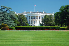 A casa branca no Washington DC imagem de stock royalty free