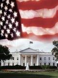 A casa branca - Washington DC Fotografia de Stock Royalty Free