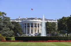A casa branca, Washington DC, EUA Fotografia de Stock
