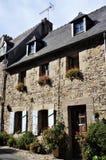 Casa bretão de pedra velha em Brittany fotografia de stock royalty free
