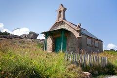Casa bretone medioevale in Brittany Fotografia Stock Libera da Diritti