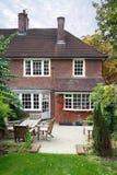 Casa britânica Foto de Stock