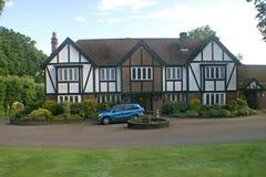 Casa britannica di Tudor Fotografie Stock Libere da Diritti