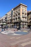 Casa Bruno Cuadros, Barcelona -, Hiszpania obrazy royalty free