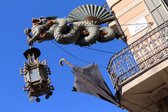 Casa Bruno Cuadros - Barcelona, Spain Stock Photo