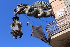 Casa Bruno Cuadros - Barcelona, Spain Stock Images