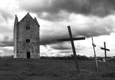 Casa Bruton de los sacerdotes Foto de archivo libre de regalías