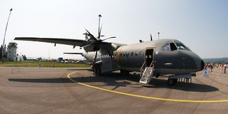 Casa C 295M - twin- turboprop Stock Photos
