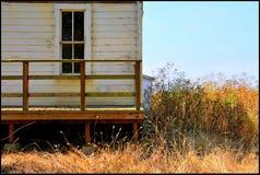 Casa California della cabina di ceppo per il vostro punto di vacanza Immagine Stock