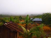 Casa cambogiana nella zona rurale Fotografie Stock Libere da Diritti