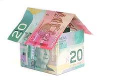 Casa canadense Foto de Stock Royalty Free