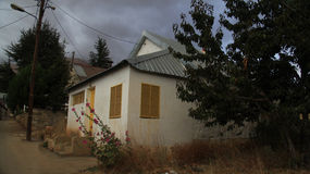 Casa capricciosa Fotografia Stock