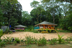 Casa caraibica del Panama Fotografia Stock