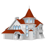 Casa, casa de campo Imagens de Stock Royalty Free