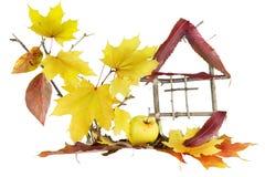 Casa, casa dolce di autunno? Fotografia Stock