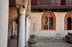 Casa Cavassa medieval palace, Saluzzo, Piemonte, Italy. Stock Photography