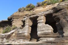 Casa cavernosa paleolitica Immagini Stock Libere da Diritti