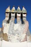 Casa ceramiczny komin Batlo Obraz Royalty Free