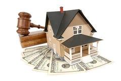 Casa che è venduta Fotografia Stock Libera da Diritti