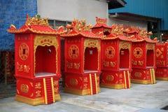 Casa cinese dell'altare Immagine Stock Libera da Diritti