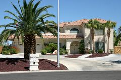 Casa cinque del deserto Fotografia Stock