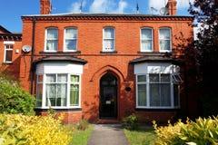 Casa classica del Victorian Fotografie Stock