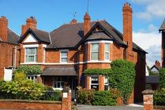 Casa classica del Victorian Fotografia Stock