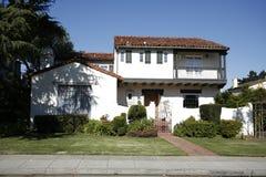 Casa classica sulla penisola di sud della California di San Francisco. immagini stock libere da diritti