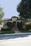 Casa classica sulla penisola di sud della California di San Francisco. Fotografie Stock Libere da Diritti