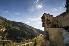 Casa colgante von Cuenca, Spanien Stockbilder
