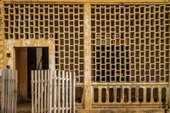 Casa colonial arruinada Imagem de Stock