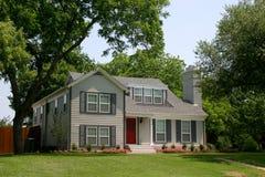 Casa colonial clássica do estilo Imagens de Stock