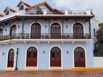 Casa colonial em América Central Imagens de Stock Royalty Free
