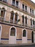 Casa colonial embaldosada en Iquitos Imagen de archivo