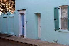 Casa colonial en el SC de Charleston Fotografía de archivo libre de regalías