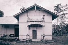 Casa colonial holandesa velha em Tebing-Tinggi Imagem de Stock Royalty Free